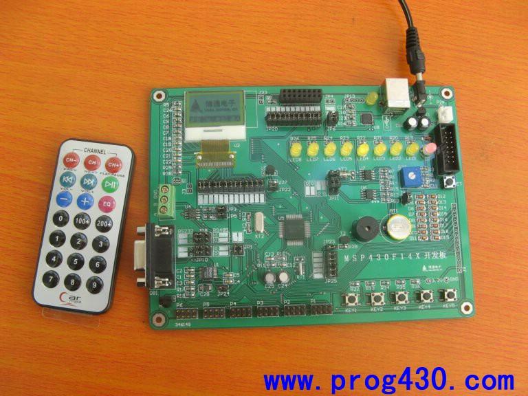 msp430f14x开发板 msp430f149